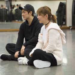 12月23日ダンスリハーサル/KO、浜崎あゆみ(画像提供:avex)
