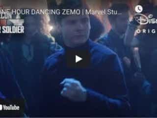 まさかの!「ファルコン&ウィンター・ソルジャー」ジモのダンス1時間耐久版が公開