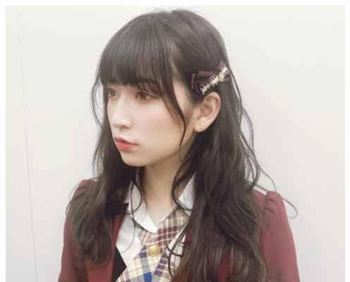 NMB48吉田朱里、黒髪ぱっつんヘアにイメチェン「真似したい」「天使」と絶賛の声