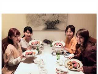 佐々木希、中川翔子&夏菜&徳永えりとのプライベートショットに「美女しかいない」「すごい華やか」と絶賛の声