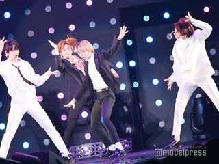 """BTSの弟分""TOMORROW X TOGETHER、日本初ライブステージ「また会いに来ます!」<TGC2019A/W>"