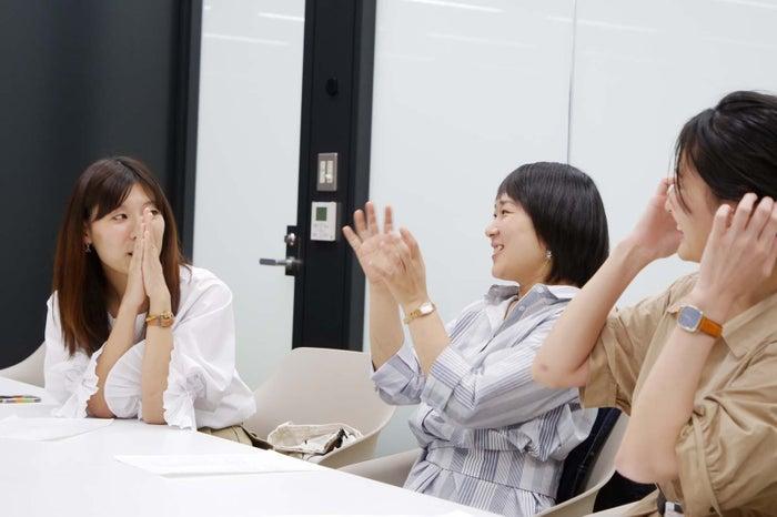 (左から)原川さん、河原林さん、井上さん
