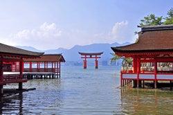 世界遺産「嚴島神社」/写真提供:広島県