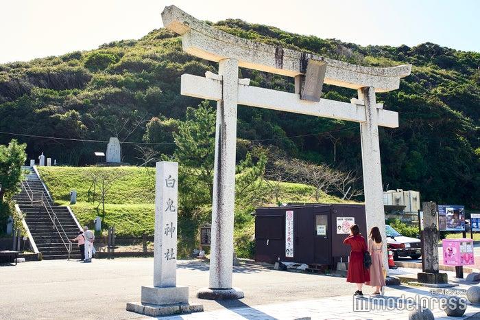 奈良時代に完成した『日本書紀』にもその名が記される、強力なパワースポット「白兎神社」(C)モデルプレス