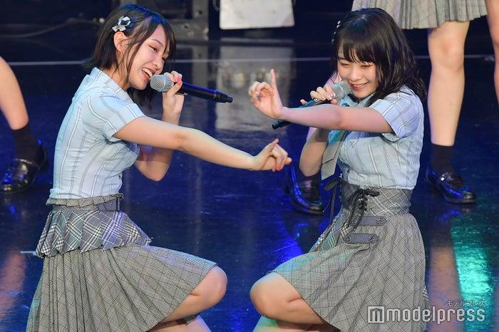 山田菜々美、横山結衣/AKB48チーム8「TOKYO IDOL FESTIVAL 2018」 (C)モデルプレス