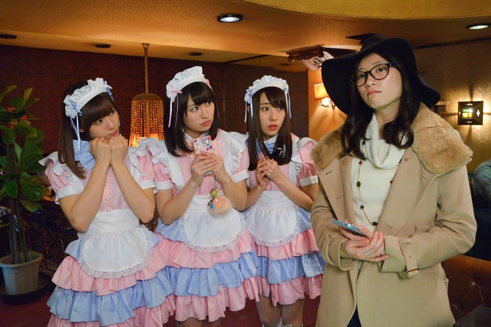 「こんにちは、女優の相楽樹です。」#1より (C)テレビ東京