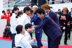表彰式/提供:日本財団パラリンピックサポートセンター