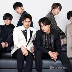 モデルプレスのインタビューに応じた(左から時計回り)川村壱馬、長谷川慎、藤原樹、吉野北人、白濱亜嵐、片寄涼太(C)モデルプレス