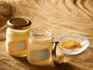 砂丘をイメージしたプリン!?砂状のカラメルをかけて食べる「砂プリン」