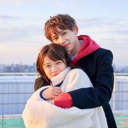 ヒナ、とらい「恋する◆週末ホームステイ 2021冬 Tokyo」(C)AbemaTV, Inc.