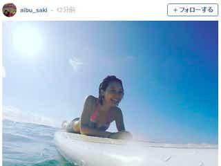 相武紗季、美ボディ開放 水着姿で「10年ぶり」挑戦
