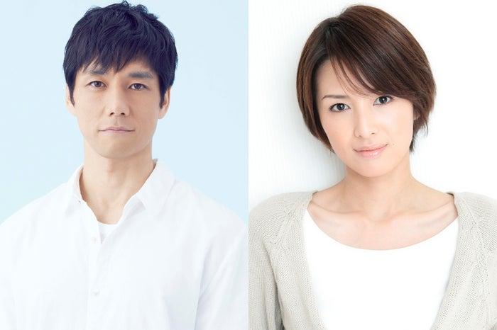 (左から)西島秀俊、吉瀬美智子(写真提供:NHK)