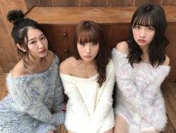 (左から)内村莉彩、浅川梨奈、渡邉幸愛(写真提供:avex)