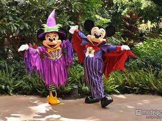 ディズニーハロウィーン、ミッキーら仮装姿で登場 ハワイで限定イベント続々実施