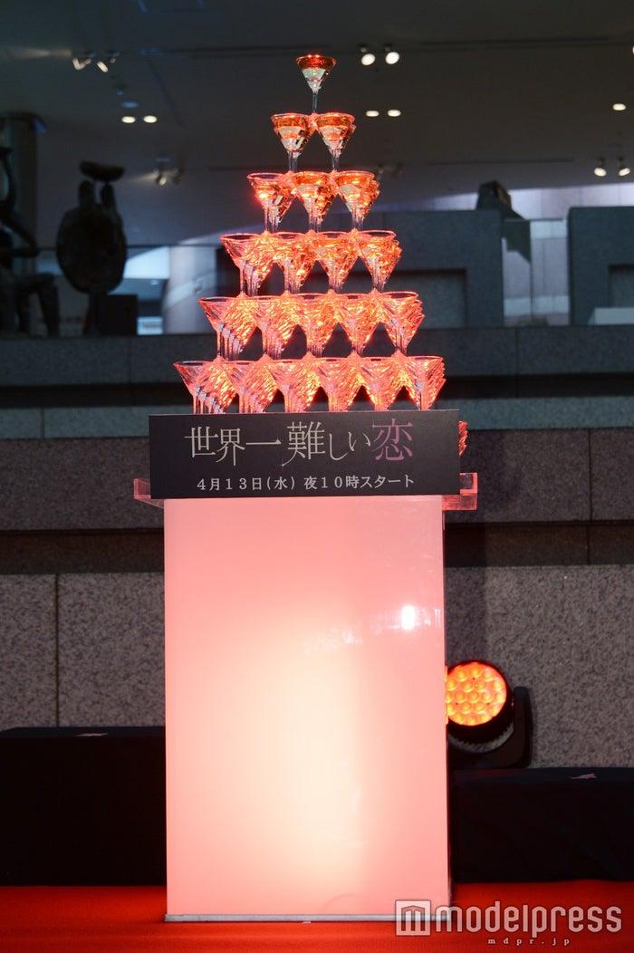 「世界一難しい恋」シャンパンタワー(C)モデルプレス