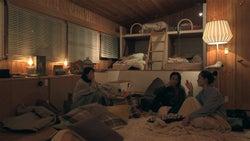 優衣、まや、りさこ「TERRACE HOUSE OPENING NEW DOORS」43rd WEEK(C)フジテレビ/イースト・エンタテインメント