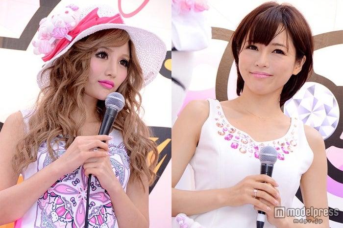 釈由美子(右)の妊娠にコメントした武藤静香(左)(C)モデルプレス