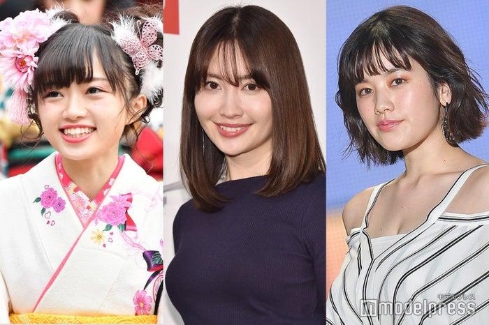 (左から)中井りか、小嶋陽菜、筧美和子 (C)モデルプレス