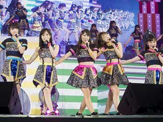 """NMB48、コンサートで2つの試みを実施 国内音楽業界に""""革命起こす試み""""も"""