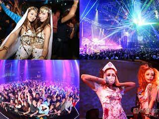 日本最大級のハロウィンパーティに宮城舞、植野有砂も登場 ageHaにて仮装コンテスト開催