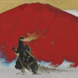 ゴジラが壮大な日本画に!日本画家・村上裕二の作品展示へ