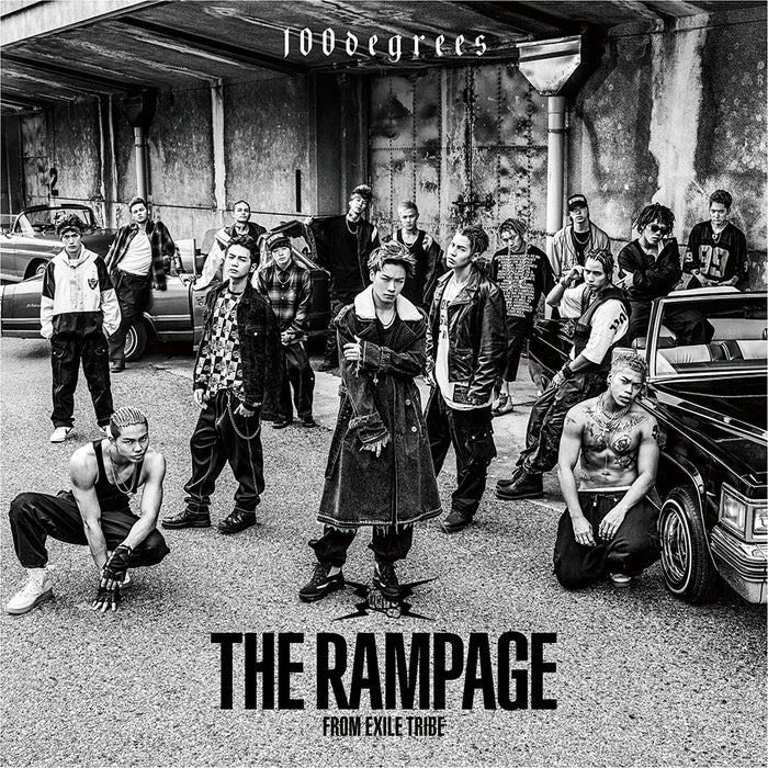THE RAMPAGE from EXILE TRIBE『100degrees』(11月8日発売)CD版ジャケット写真(提供写真)