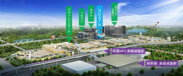 高鉄桃園駅前開発地区/画像提供:横浜八景島