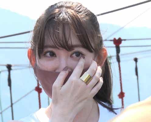小嶋陽菜「有吉の夏休み」で涙 思わず「引退します!」