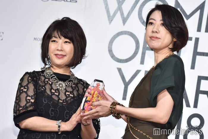 野木亜紀子氏、受賞の瞬間 (C)モデルプレス