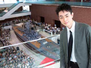 菅田将暉、凱旋イベントで600人から熱烈歓迎<アルキメデスの大戦>
