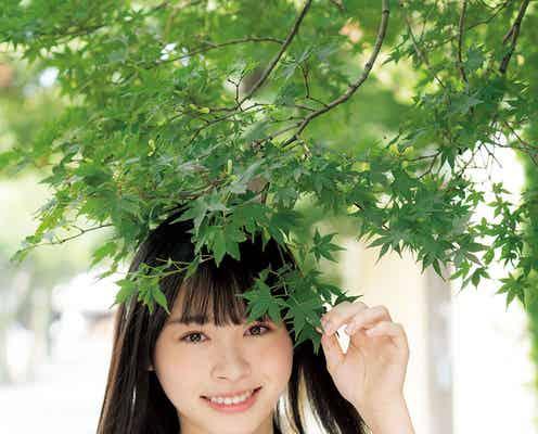 日向坂46高橋未来虹、ピュア&フレッシュな制服姿披露