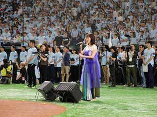 大原櫻子、4万7000人の前で初の国歌独唱