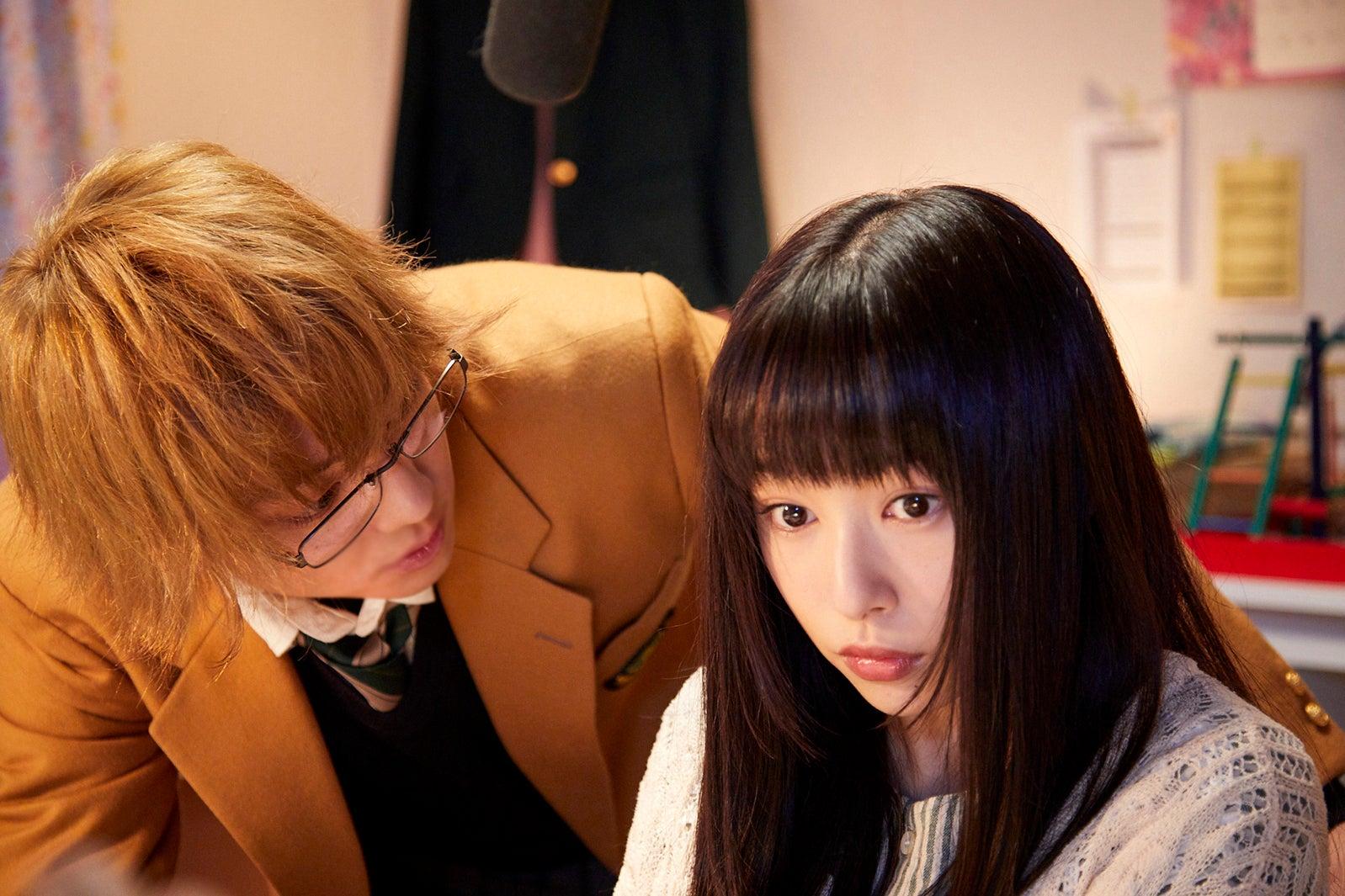 伊藤健太郎、桜井日奈子(C)2018『ういらぶ。』製作委員