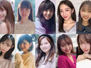 「GirlsAward」が手掛けるキャンパスミスコン「CampusAward」美女ぞろいの本選出場者を公開【Aブロック通過者10人にQ&A】