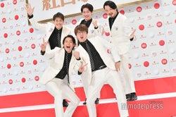 (前列左から)白川裕二郎、酒井一圭(後列左から)後上翔太、友井雄亮、小田井涼平