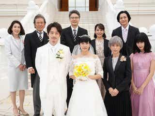 柴咲コウ、ウエディングドレス姿披露 「35歳の少女」最初で最後のオールキャスト集結