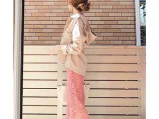 春っぽパステルスカートの色別コーデ4選 こう履けばオトナっぽい!