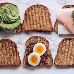 ダイエット中でも美味しいパンが食べたい!絶品&ヘルシーな食パン特集
