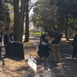 「東海テレビ×WOWOW共同製作連続ドラマ ミラー・ツインズ Season1」撮影風景 (画像提供:東海テレビ)