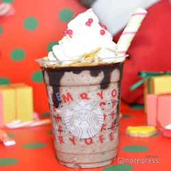 「サンタブーツ チョコレート フラペチーノ」(C)モデルプレス