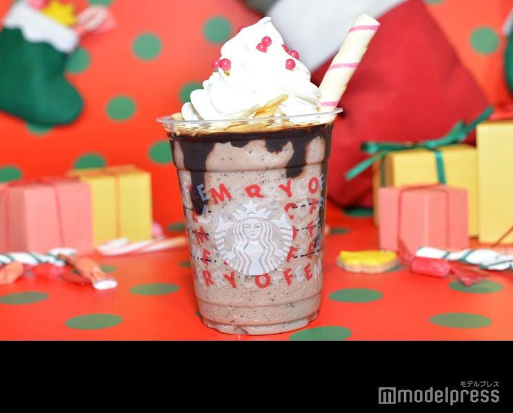 スタバ、ポテトチップス入り&クッキーがストローに 「サンタブーツ チョコレート フラペチーノ」が斬新<ホリデー第3弾試飲レポ>