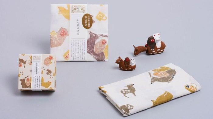 鹿猿狐ビルヂング限定品/画像提供:中川政七商店