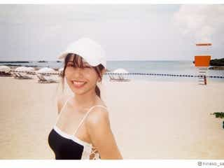 佐野ひなこ、水着・制服姿公開「全部可愛い」とファン悶絶