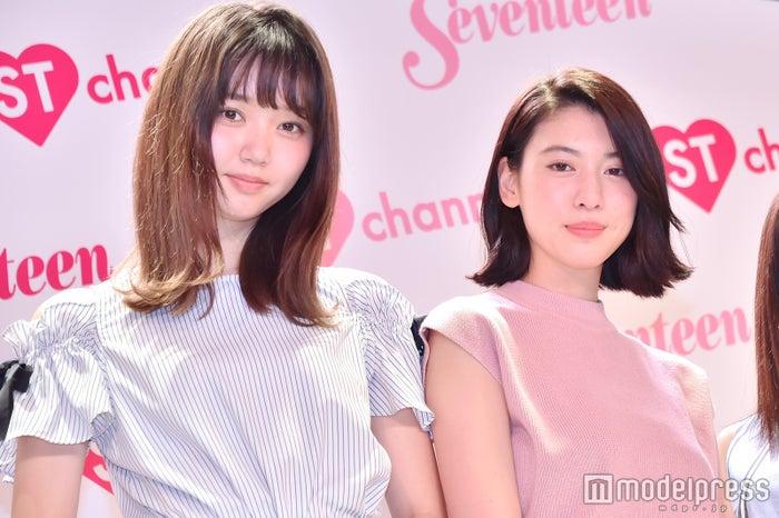 江野沢愛美、三吉彩花(C)モデルプレス