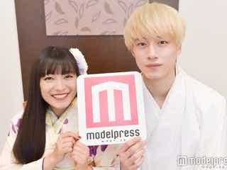 """miwa&坂口健太郎""""34cm差""""だから生まれた胸キュンシーン「最初お姫様だっこの予定だったんです」モデルプレスインタビュー"""