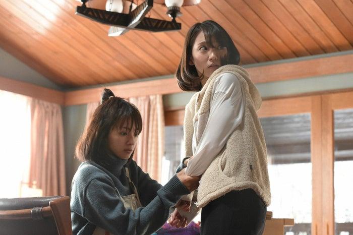 満島ひかり、吉岡里帆「カルテット」第5話より(C)TBS