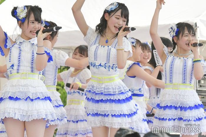 前田彩佳、山内瑞葵、田口愛佳/AKB48フレッシュ選抜「TOKYO IDOL FESTIVAL 2018」(C)モデルプレス