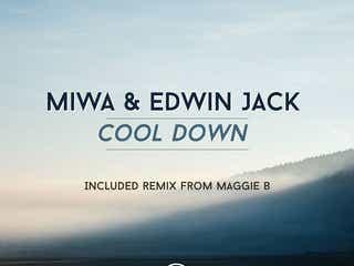 MIWA 最新作「MIWA&Edwin Jack -Cool Down- EP」8月3日発売