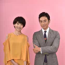 (左から)波瑠、伊勢谷友介(C)日本テレビ