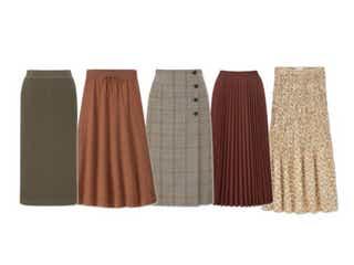 【ユニクロ】あの大ヒットアイテムの再販も!今年のおすすめ「秋スカート」5選